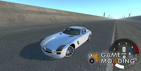 Mercedes-Benz SLS AMG for BeamNG.Drive