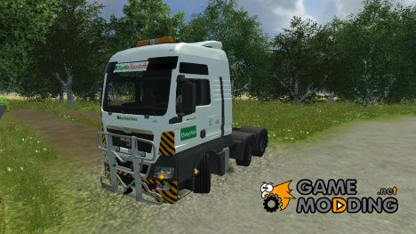 MAN TGX BayWa v 2.0 for Farming Simulator 2013