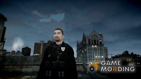 Policier BAC Police Nationale для GTA 4
