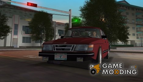 Saab 900i 16 (1986) для GTA Vice City