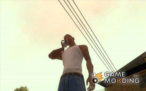 Нормальные руки CJя для GTA San Andreas