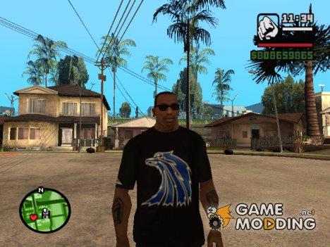 Футболка с логотипом Наёмников для GTA San Andreas