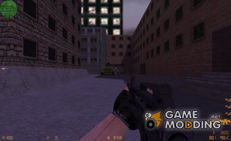 M4A1 on mullet anims for Counter-Strike 1.6