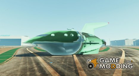Planet Express Ship BETA1 for GTA 5