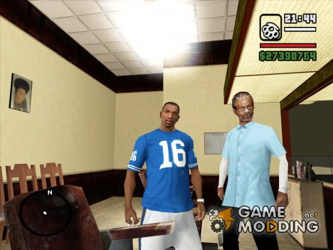 Футболка Joe Montana for GTA San Andreas