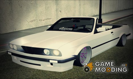 BMW E30 Cabrio B.O. Yapım for GTA San Andreas