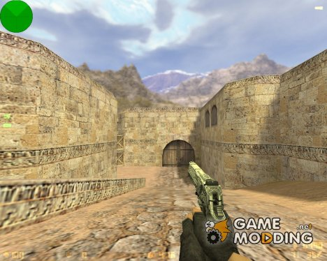 Engraved Desert Eagle (Серебренный) для Counter-Strike 1.6