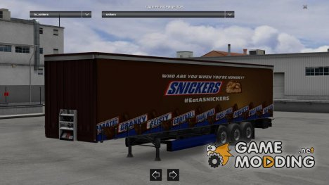 Snikers for Euro Truck Simulator 2