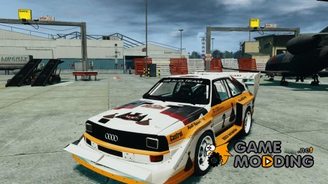 Audi Quattro S1 Team Sport 1982 for GTA 4