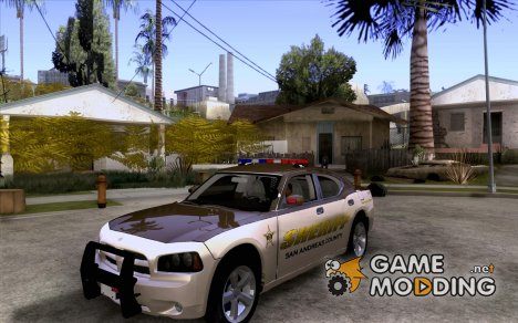 County Sheriff's Dept Dodge Charger для GTA San Andreas