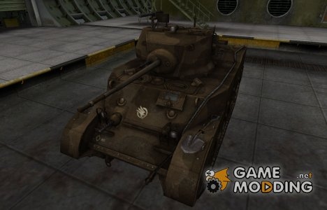 Скин в стиле C&C GDI для M5 Stuart для World of Tanks