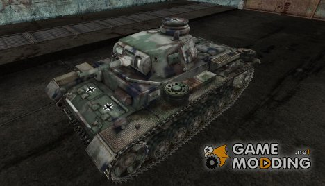 PzKpfw III daven для World of Tanks