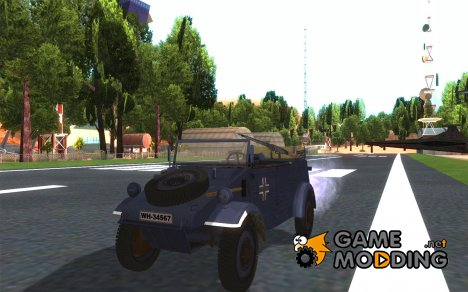 Kuebelwagen v2.0 normal для GTA San Andreas