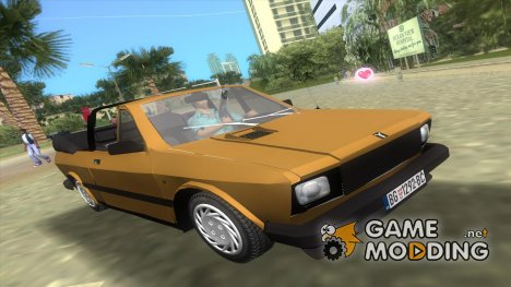 Yugo Koral 45 Kabrio для GTA Vice City