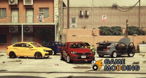 2015 Lada Vesta 0.2 для GTA 5