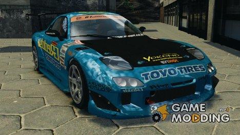 Mazda RX-7 RE-Amemiya для GTA 4