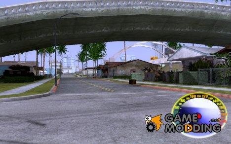 Spedometr RUSSIAN v.1 для GTA San Andreas