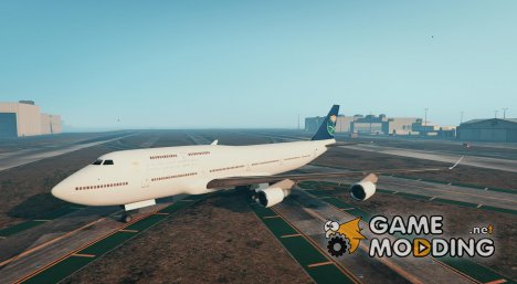 Saudi Airline Plane for GTA 5