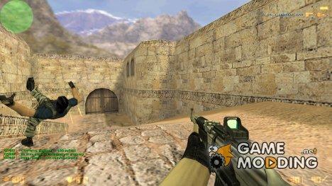 Пак заменяющий всё оружие для Counter-Strike 1.6