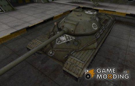 Зоны пробития контурные для ИС-8 для World of Tanks