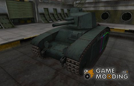 Контурные зоны пробития BDR G1B for World of Tanks