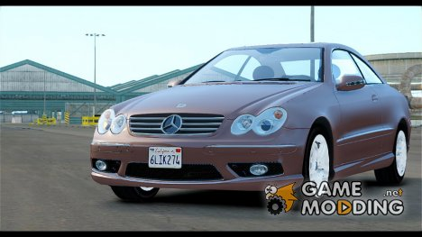 Mercedes-Benz CLK 55 AMG Stock for GTA 4
