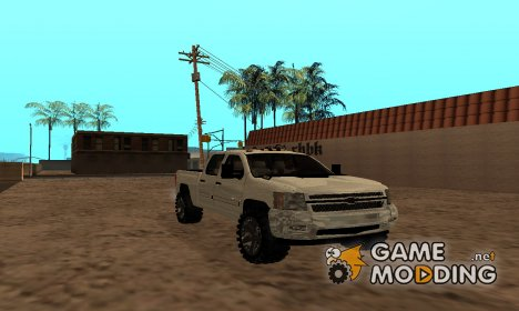 Chevrolet Silverado Duramax 2012 for GTA San Andreas