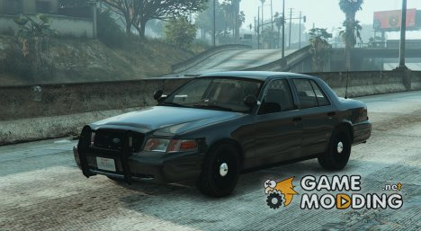 FBI Ford CVPI 4K v3 for GTA 5