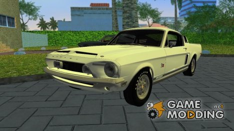 Shelby GT500KR 1968 for GTA Vice City