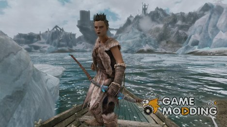 Bow of Jin the Ice Master для TES V Skyrim
