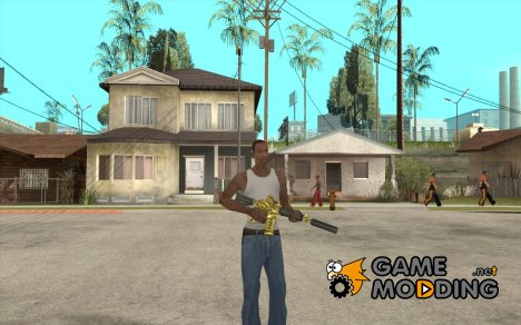 [GOLD] m4 for GTA San Andreas