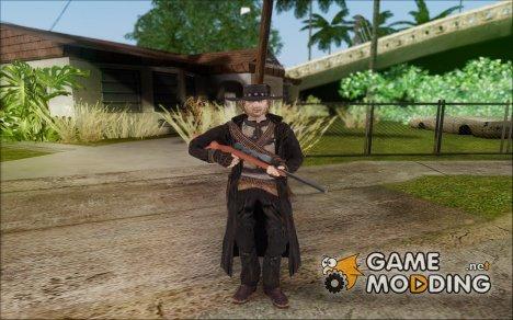 Ray McCall Gunslinger для GTA San Andreas