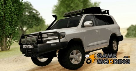 Toyota Land Cruiser 200 Off-Road для GTA San Andreas