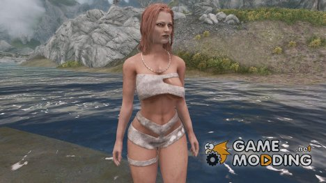 Tribal Hunt Armor для TES V Skyrim