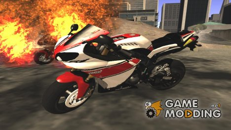 Yamaha R1 2011 for GTA San Andreas