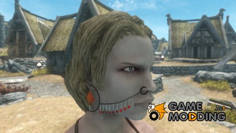 Hi Res Standalone Nose Chain Reupload for TES V Skyrim