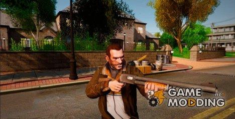 Помповое ружье Remington for GTA 4
