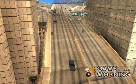 Новый алгоритм трафика автомобилей for GTA San Andreas