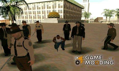 Скин-пак шерифов for GTA San Andreas