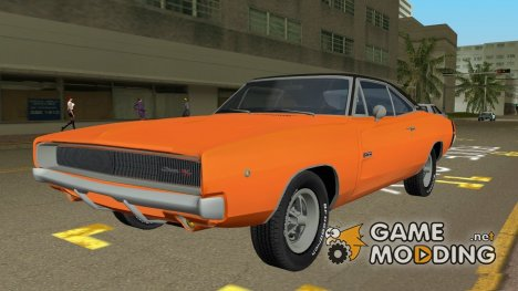 Dodge Charger 1968 RT 426 for GTA Vice City