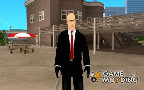 Hitman из игры Hitman Blood Money для GTA San Andreas