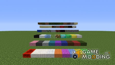 Slab Craft Mod для Minecraft