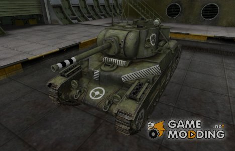 Зоны пробития контурные для Матильда IV for World of Tanks