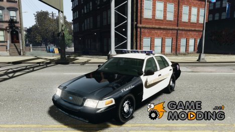 Ford Crown Victoria Massachusetts State East Bridgewater Police for GTA 4
