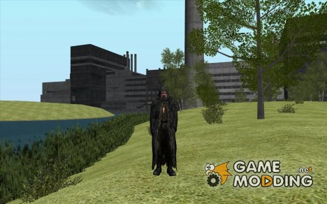 Отец Виталий из S.T.A.L.K.E.R. УЗ for GTA San Andreas