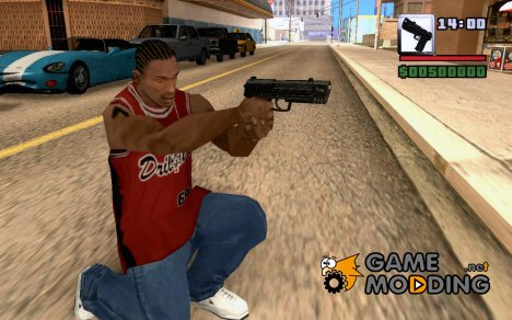 Glock17 for GTA San Andreas