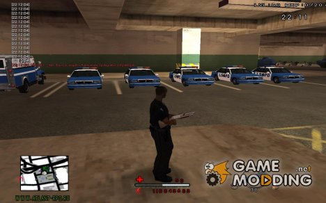 C-HUD by SaMoGoN для GTA San Andreas