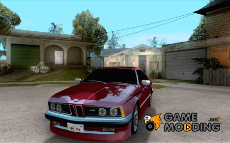 BMW M6 E24 for GTA San Andreas