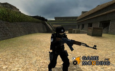 Chinese Police Counter Terrorist (Jing Cha) для Counter-Strike Source