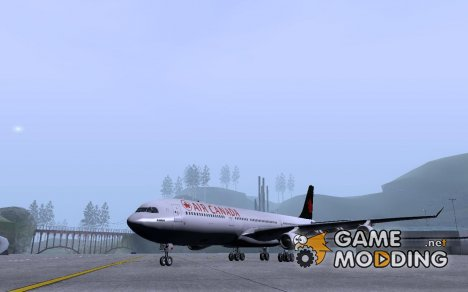 Airbus A340-300 Air Canada for GTA San Andreas